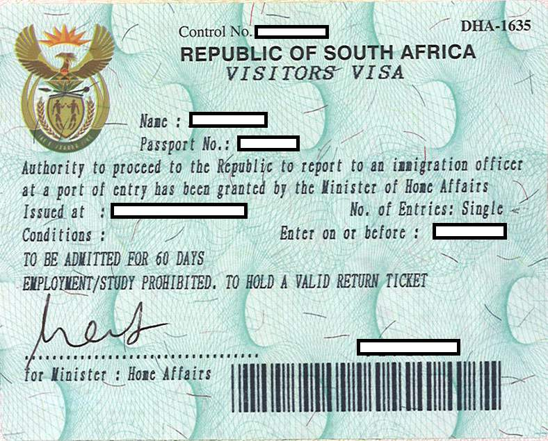 South Africa New World Immigration
